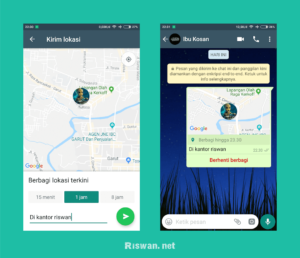 Cara Share Lokasi di Whatsapp Dengan Mudah